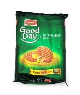 Britannia Good Day Cookies Pista Almond Value Pack