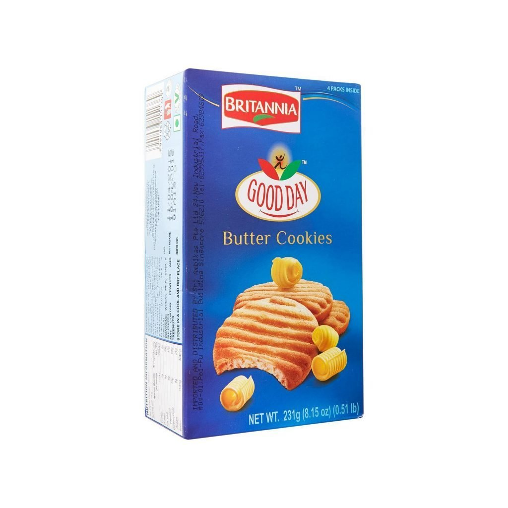 Britannia Good Day Cookies Butter