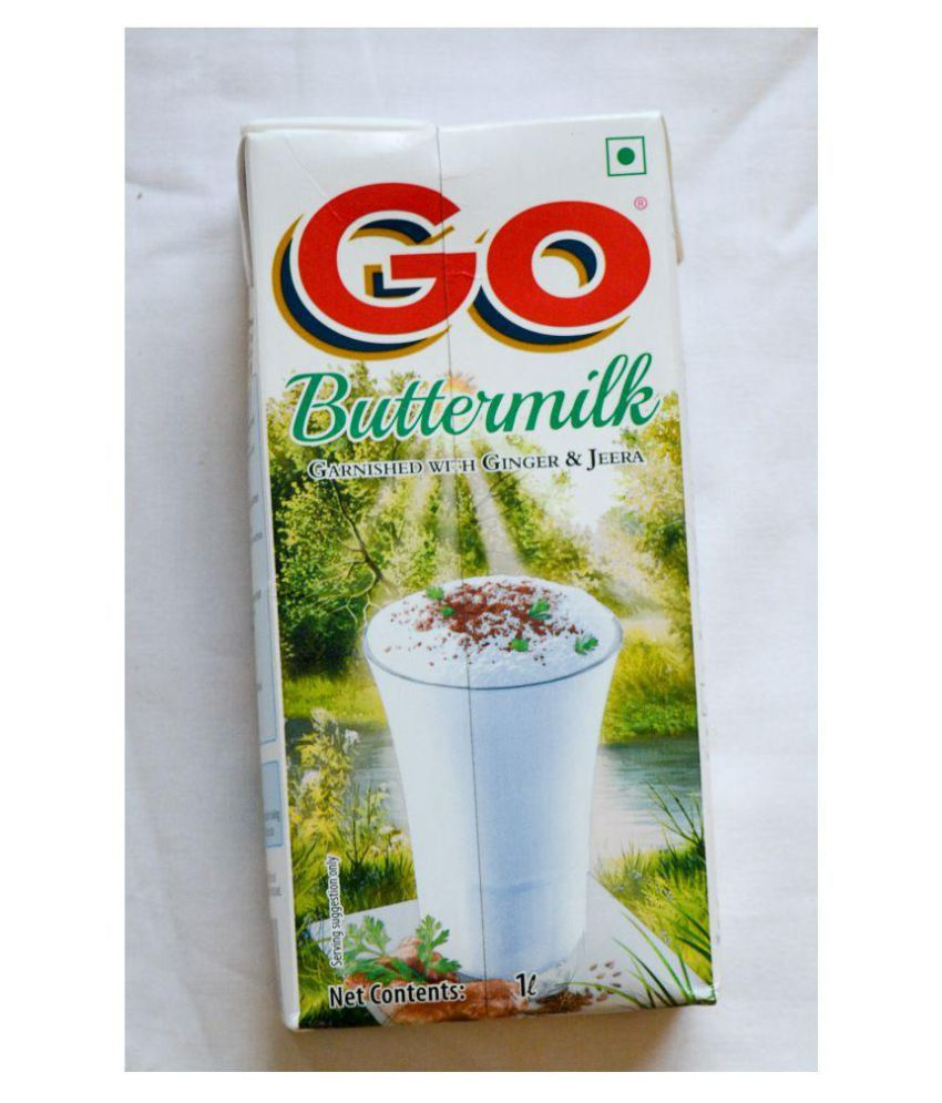 Go Buttermilk Garnished with Ginger Jeera