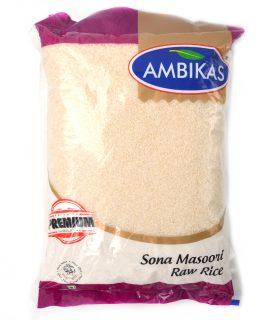 Ambikas Sona Masoori Raw Rice 5Kg