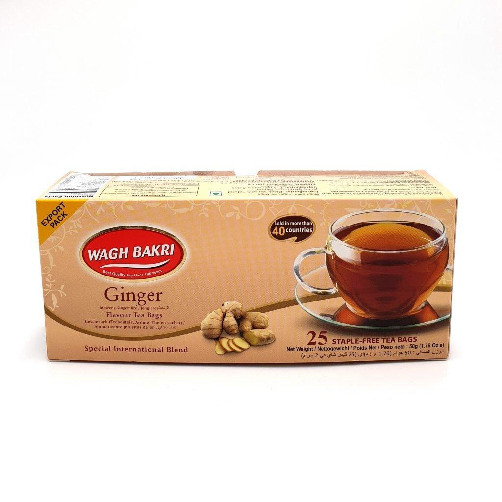 Wagh Bakri Ginger Tea Bags 50g