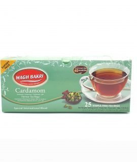 Wagh Bakri Cardamom Tea Bags 50g