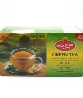 Wagh Bakri Green Tea With Mint Tea Bags 37.5g