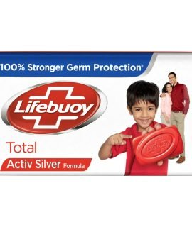 Lifebuoy 100% Stronger Germ Protection Total Bar Soap F
