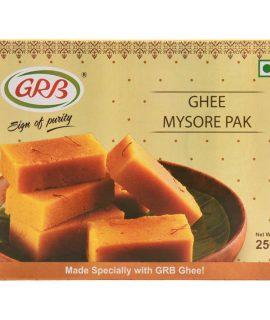 grb ghee mysore pak