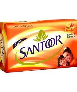 Santoor Sandal Turmeric Soap Bar 100g
