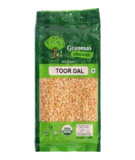Grandmas Organic Toor Dal 500g-1
