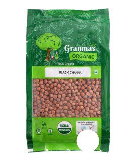 Grandmas Organic Black Channa 1KG-F