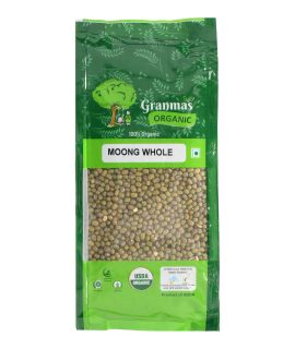 Grandmas Organic Moong Whole 500g-1