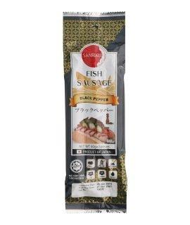Sanriku Fish Sausage Black Pepper 60g x 3 pieces