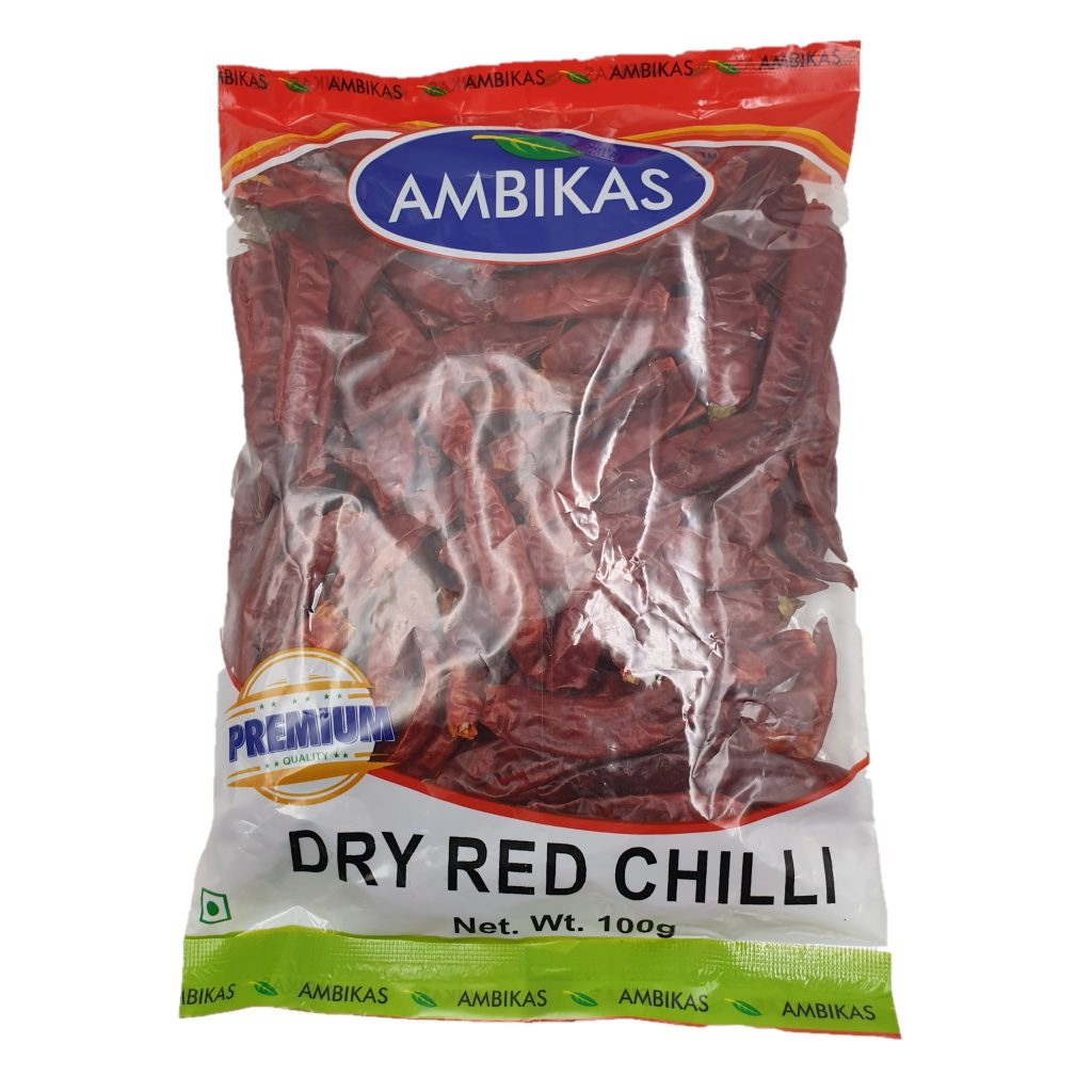 Buy Ambikas: Online shopping Dry Red Chilli 100g in Singapore
