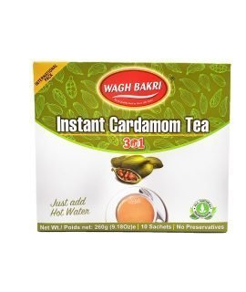 Buy Wagh Bakri : Online shopping Instant Cardamom tea 3-in-1 260g in Singapore